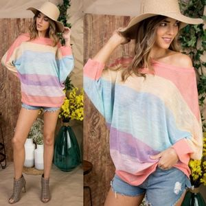 BRIELLE 3/4 Sleeve Knit Top